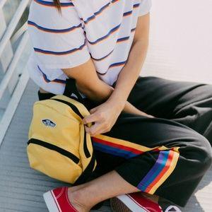 Vans Logo Patch Mini Backpack Mustard Yellow